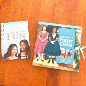 American Girl Cecile Marie-Grace Paper Dolls Books